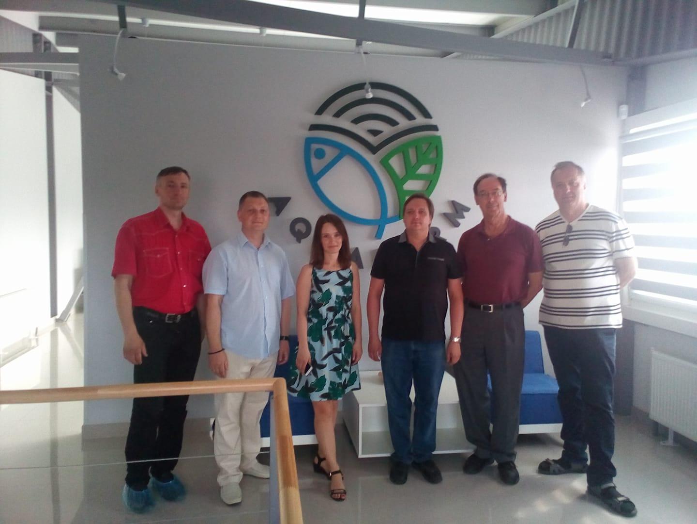IRCF visits AQUAFARM 1
